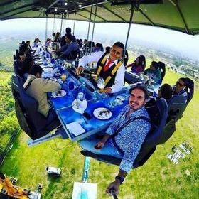 Dining in the Sky - Bucket List Ideas