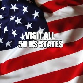 Visit all 50 US States - Bucket List Ideas