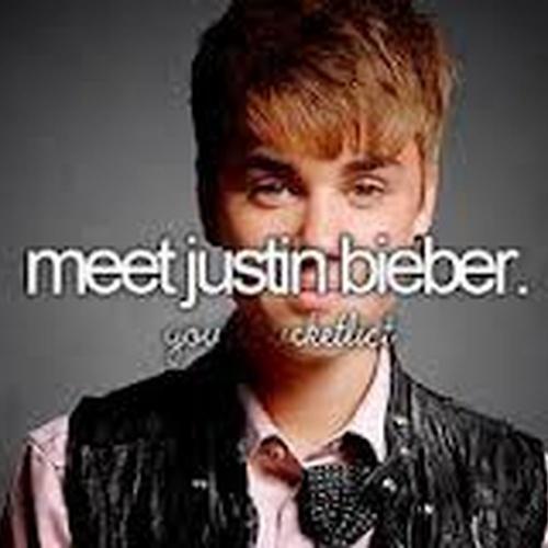 Meet Justin Bieber - Bucket List Ideas