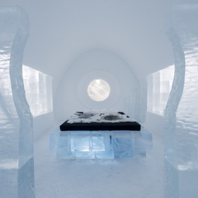 Stay in the Ice Hotel - Bucket List Ideas
