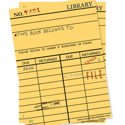 Leave a note in a library book - Bucket List Ideas