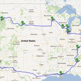 Take an around the USA road trip - Bucket List Ideas