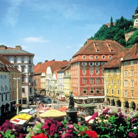 Visit City of Graz - Historic Center and Schloss Eggenberg - Bucket List Ideas