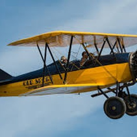 Ride in a biplane - Bucket List Ideas