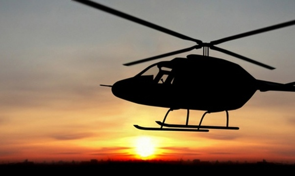 Go on a helicopter ride - Bucket List Ideas