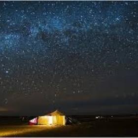 Camp out underneath the stars - Bucket List Ideas