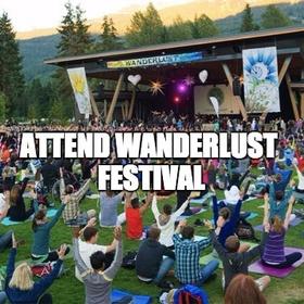 Attend Wanderlust Festival - Bucket List Ideas