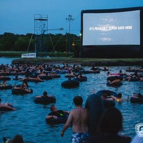Watch 'Jaws' while in water - Bucket List Ideas