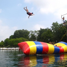 Try the blob jump - Bucket List Ideas