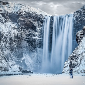 See Skógafoss in the winter, Iceland - Bucket List Ideas