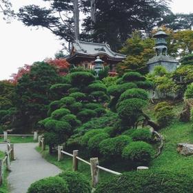 Walk in a Japanese garden - Bucket List Ideas
