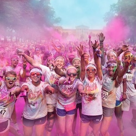 Color Run - Bucket List Ideas
