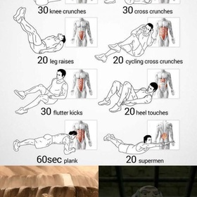 60 day Total Abs workout - Bucket List Ideas