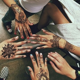 Get a Henna Tattoo - Bucket List Ideas