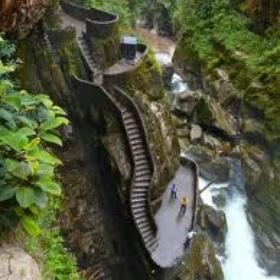Climb the canyon steps in Ecuador - Bucket List Ideas