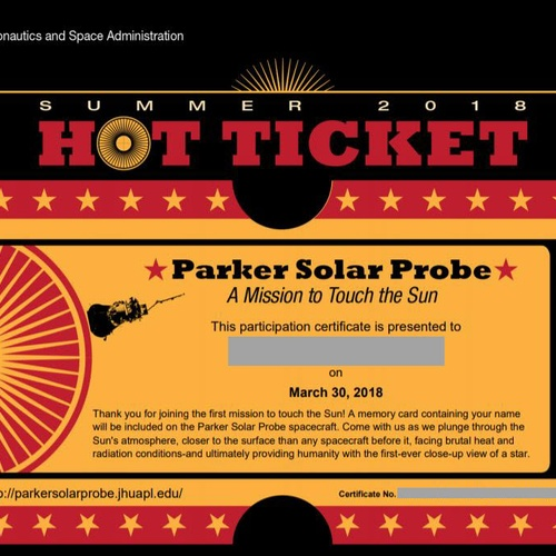 Participate the First Mission to Touch the Sun - Bucket List Ideas