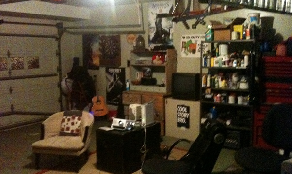 Create a mancave - Bucket List Ideas