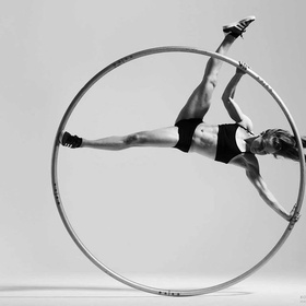 Learn how to spin on a Cyr Wheel - Bucket List Ideas