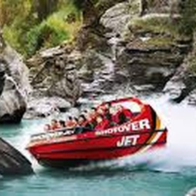 Take a Ride on the Shotover Jet in Queenstown New Zealand - Bucket List Ideas