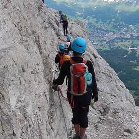 Hike/Climb Via Ferrata- Dolomiti, Italy - Bucket List Ideas