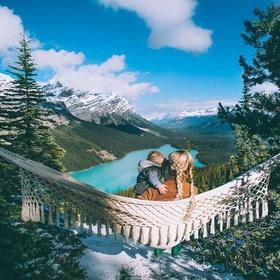 Go Hammocking at Banff National Park - Bucket List Ideas
