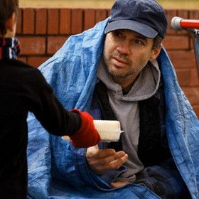 Buy a meal for homeless person - Bucket List Ideas