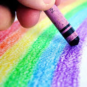 Color With Crayons - Bucket List Ideas