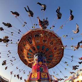 Ride a swing carousel - Bucket List Ideas