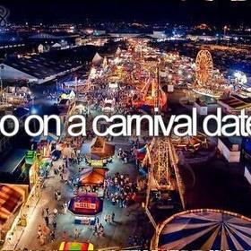 Go on a carnival date - Bucket List Ideas