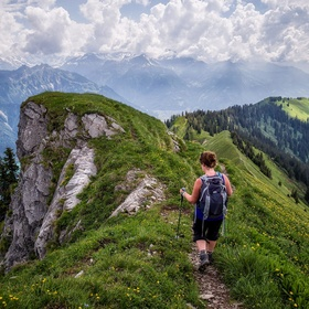 Hike Hardergrat in Swizterland - Bucket List Ideas