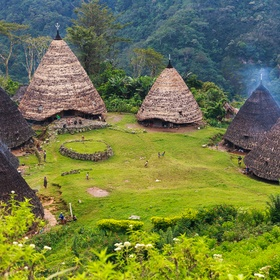 Trek to the  Wae Rebo Traditional Village in Indonesia - Bucket List Ideas