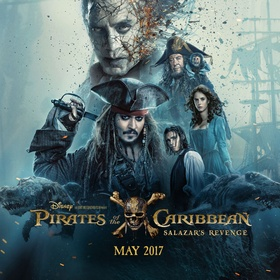 Watch the Pirates of the Caribbean: Dead Men Tell No Tales - Bucket List Ideas
