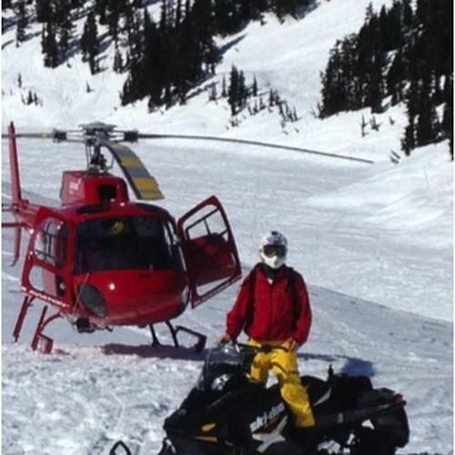 Go on a Skidoo Ride - Bucket List Ideas