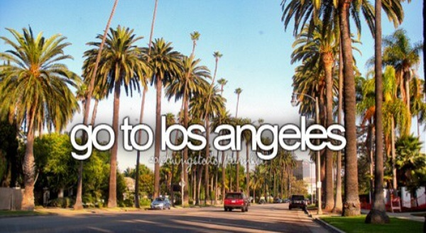 Visit LA - Bucket List Ideas
