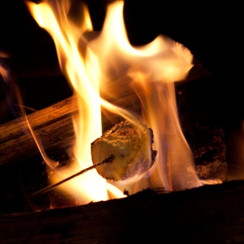 Make S'more in the Fireplace - Bucket List Ideas