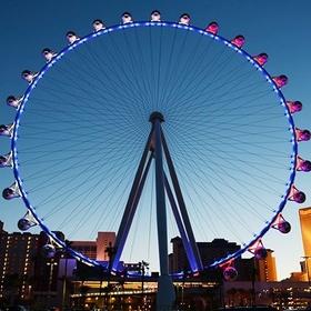 Ride on the world's highest observation wheel-the high roller in las vegas - Bucket List Ideas