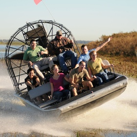 Go airboating in the Everglades - Bucket List Ideas
