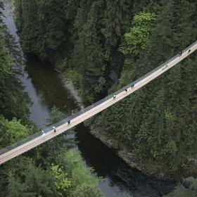 Walk across the Capilano Suspension Bridge - Bucket List Ideas