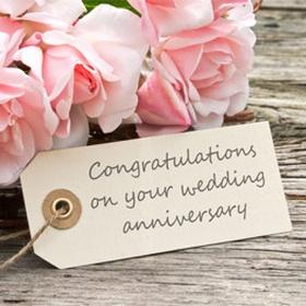 Celebrate my wedding anniversary - Bucket List Ideas