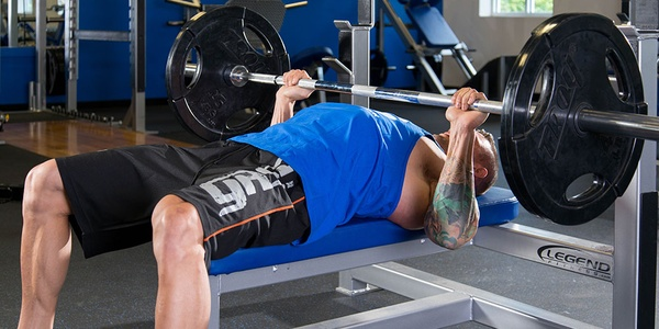Bench press my own weight - Bucket List Ideas