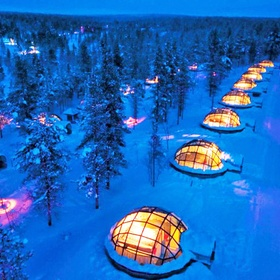 Sleep in a Glass Igloo and watch the Northern Lights - Bucket List Ideas