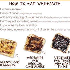 Eat vegemite toast - Bucket List Ideas