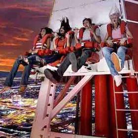 Ride The Big Shot On Stratosphere In Las Vegas - Bucket List Ideas