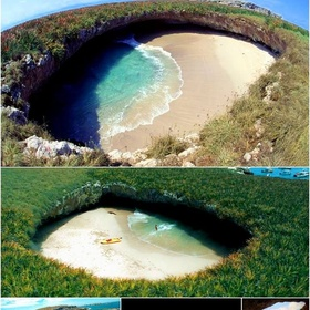 Visti the Hidden Beach at Marieta Island - Bucket List Ideas