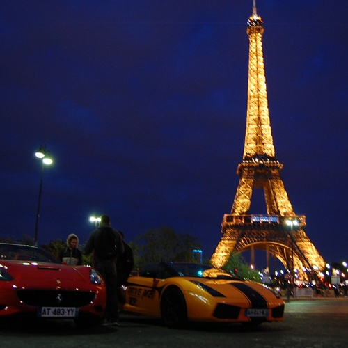 Go to the eiffel tower - Bucket List Ideas