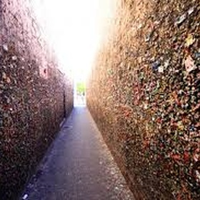 Put a piece of gum on the gum wall in Seattle - Bucket List Ideas