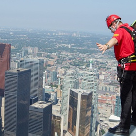 Edge Walk at Toronto's CN Tower - Bucket List Ideas