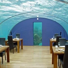 Eat at the Undersea Restaurant Ithaa - Bucket List Ideas