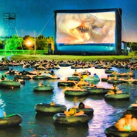 Go to a Swim-In Movie - Bucket List Ideas
