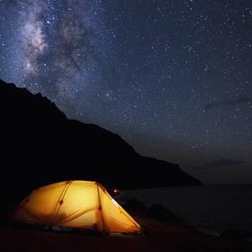 Camping under the stars - Bucket List Ideas